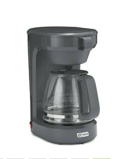 Dash 12 Cup Express Coffee Maker Gray Keep Warm Feature 900