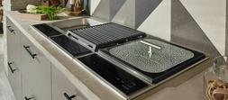 """Wolf 15"""" Stainless Steel Transitional Steamer Module SM15TS"""