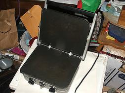 2 Griddles out of Cuisinart GR Silver Black Dials Electric;