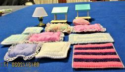57pieces Barbie Doll Furniture, Small Appliances &Outdoor It