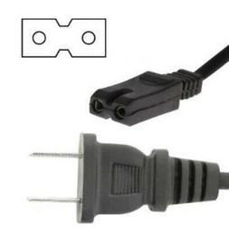 6ft 20awg small appliance/shaver/sony/square Power Cord/Cabl