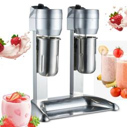 Commercial Stainless Steel Milk Shake Machine Double Head Dr