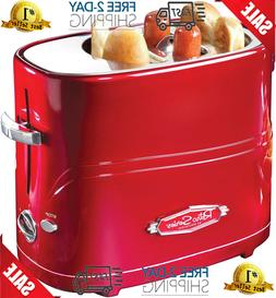 Hot Dog Toaster 2 Slice Red Home Kitchen Dining Small Applia