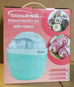 BRENTWOOD ICE CREAM MAKER #TS-1410BL NEW IN BOX FREE SHIPPIN