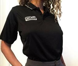 Viking Appliance Black Collared Shirt w/ buttons. Sports Jer