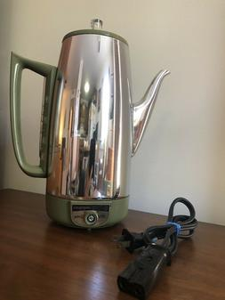 Vintage GE General Electric 9 Cup Automatic Percolator Coffe