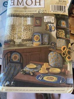 Vintage Simplicity Sewing Oattern 8693 Home Placemats Small