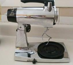 Vtg Sunbeam 12 Speed Mixmaster Model #100-86659 Stainless St
